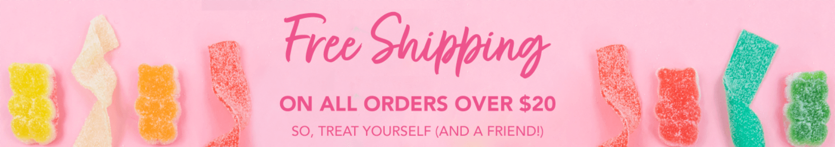 Free Shipping on all orders over $20